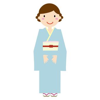Kimono (visit arrival)