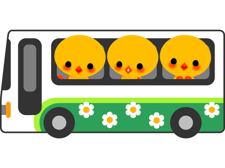 Chick and bus