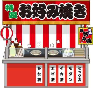 Okonomiyaki restaurant opening