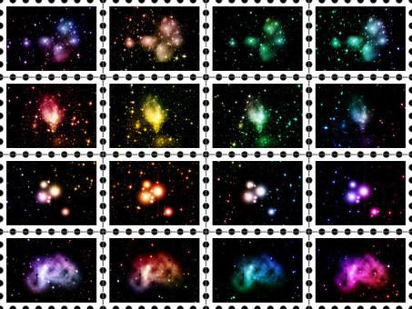 Stamp (starry sky)