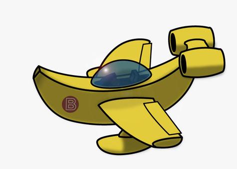 Banana plane