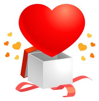 발렌타인 데이 감사 · 감정 · 선물 2 (레드