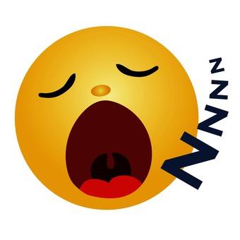 Emoticon snoring