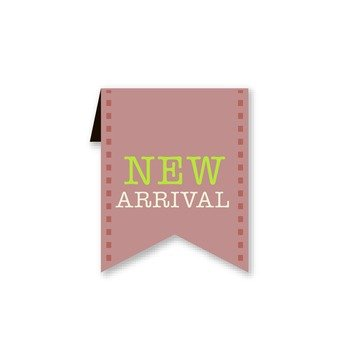 NEW ARRIVAL (Pink banners)