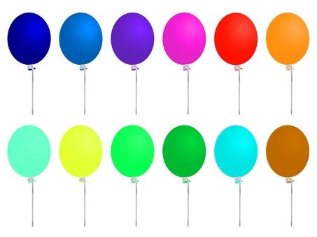 Balloon 12 colors