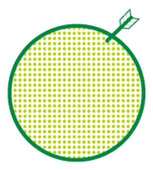 Pattern shining pattern _ green