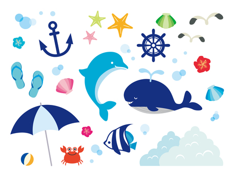 Sea illustration collection (3)