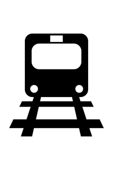 기차 실루엣 01