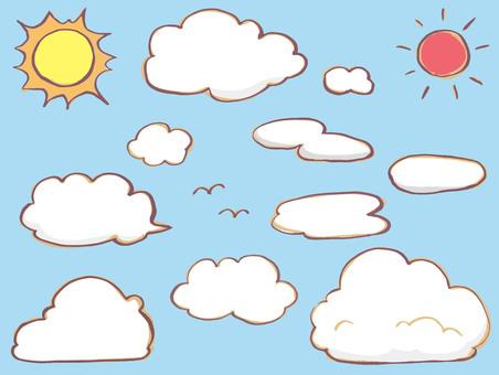 Cloud · sun