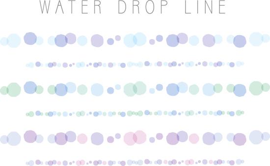 Droplet line