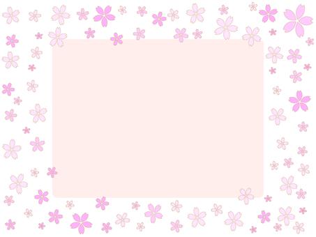 Cherry Blossom Frame 7
