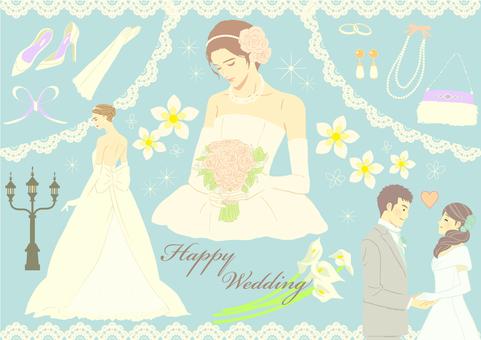 Wedding set color ver.