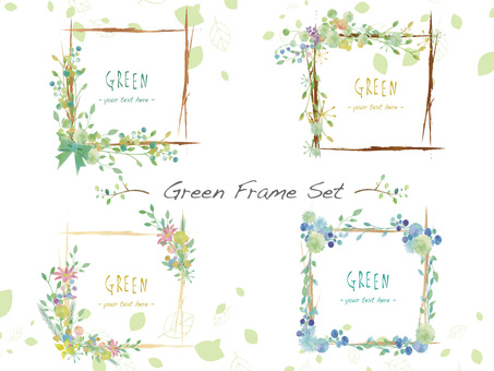 New green frame set ver 17