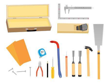 Carpenter tool set