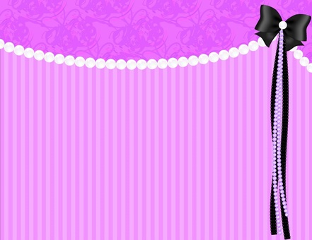 Pearl Ribbon Background _ purple