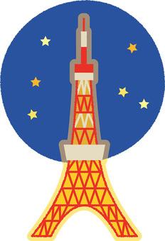 Tokyo Tower _ night