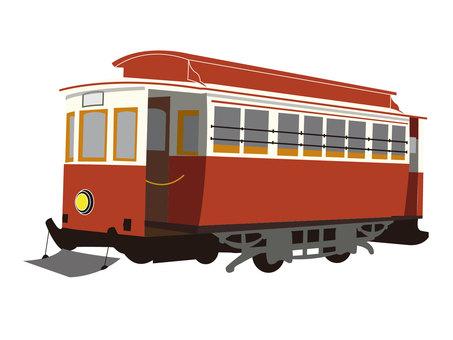 Retro streetcar