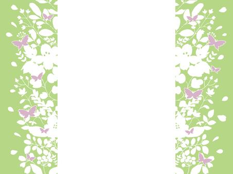 꽃과 나비의 프레임