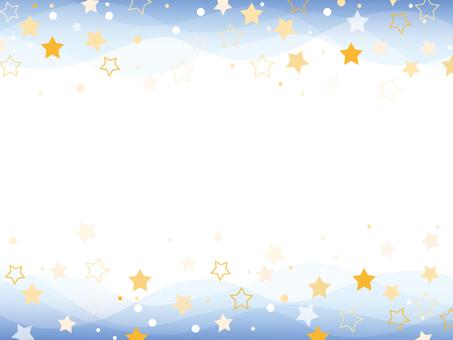Star pattern frame
