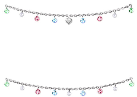 Jewelry lineframe