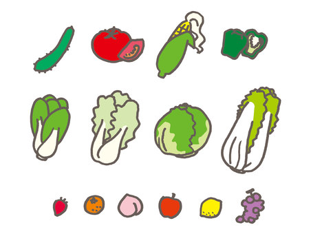 Variety of vegetables 02