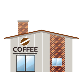 Building store coffee shop