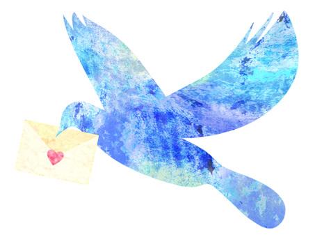 Blue bird _ rough 02