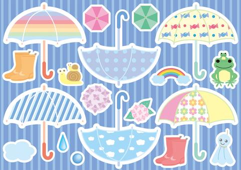 Umbrellas and accessories