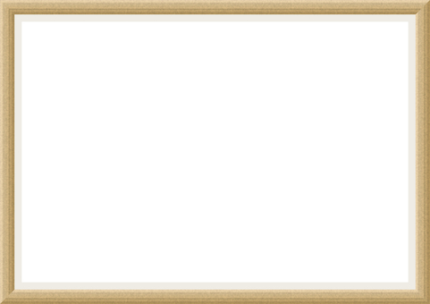 Wood grain photo frame