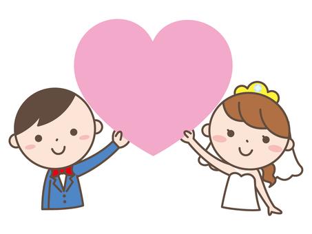 結婚ハート2