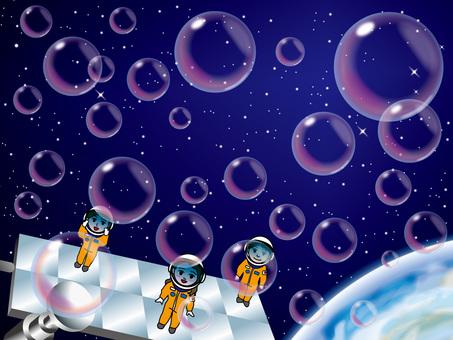 Soap bubble (12) Space Station