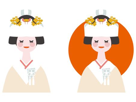 Kimono's bride