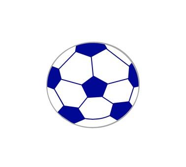 足球,藍色足球