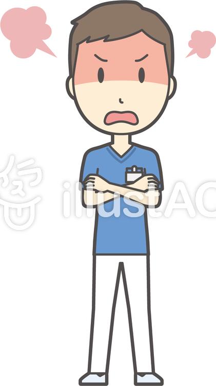 Clipart gratuita Un infermiera Un uomo rabbia figura Un medico - 1323026  e4de4acc80a3