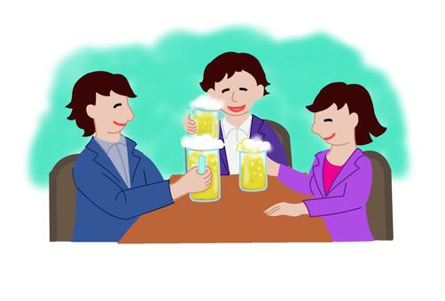 Drinking party diary