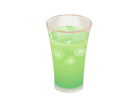 Melon juice