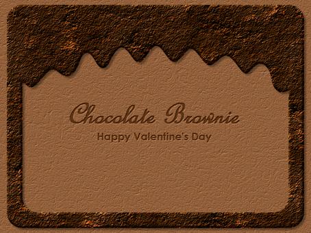 Choco Brownie Framed Laminae High Quality