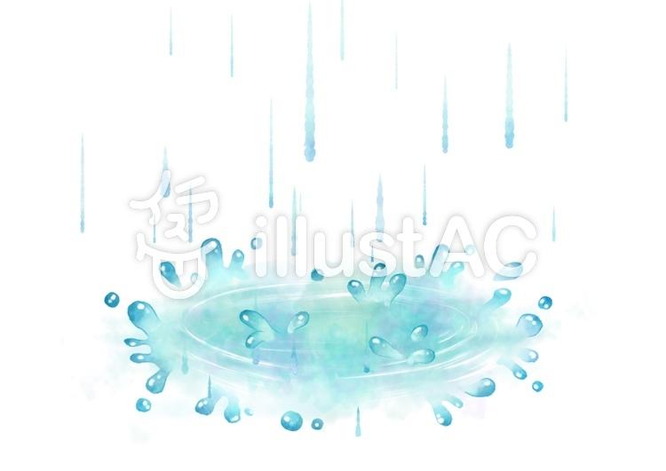水たまりイラスト No 1074260無料イラストならイラストac