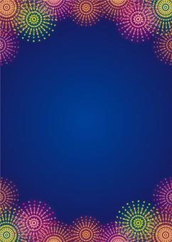 Fireworks image (Vertical)