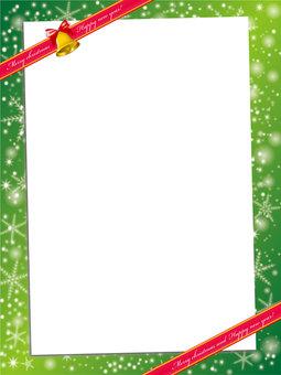 Christmas card: Christmas material