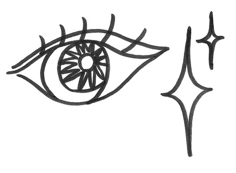 Eye sparkle eye
