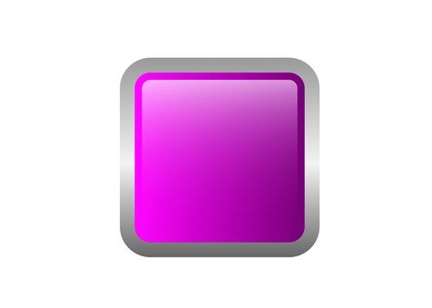 Square button (peach)