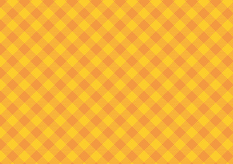 Was there orange diagonal gingham