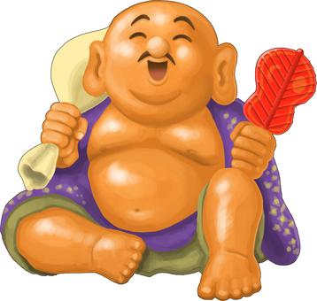 Seven Lucky God Buddha