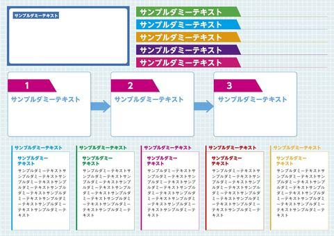 Advertisement, leaflet framework material