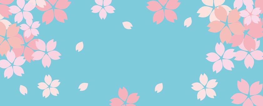 Cherry cute cute background blue