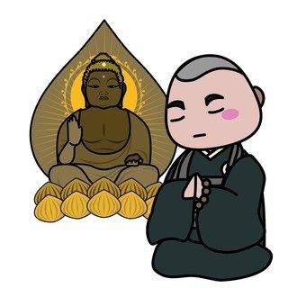 Buddha and Buddha statue