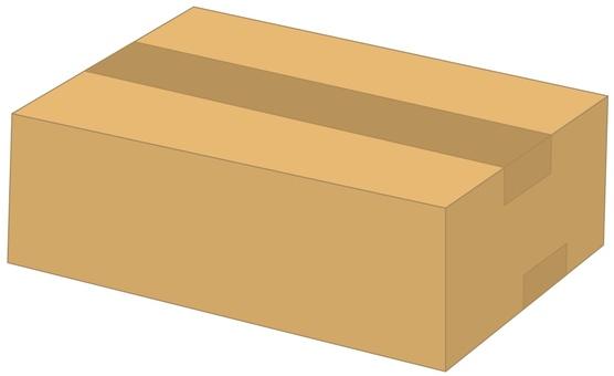 Cardboard box B