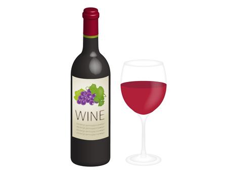 Wine bottle set
