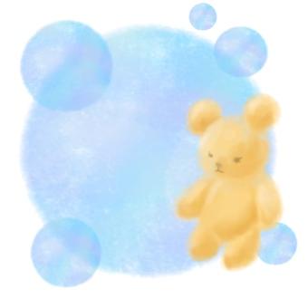 肥皂泡和熊